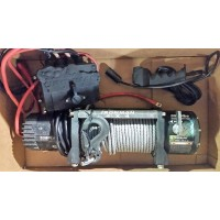 IRONMAN 4X4 Electric Winch 9500 pound capacity, USED