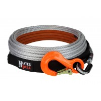 "Master Pull Superline 11mm (7/16"") Synthetic Winch Line, 36500 lb."