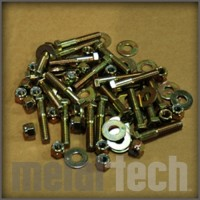 Toyota FJ40 Land Cruiser MetalTech Roll Cage Bolt Kit