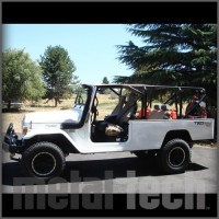 Toyota HJ47 Land Cruiser Full Profile Roll Cage Kit