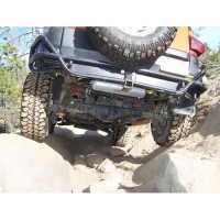 Toyota FJ Cruiser MetalTech Rear Tube Bumper