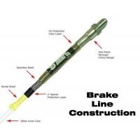 Stainless Steel Extended Brake Line Kit (Click for Options)