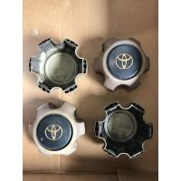 Toyota Landcruiser FJ80 Hub Caps (black)