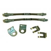 IPOR Stainless Steel Caliper Brake Line Kit