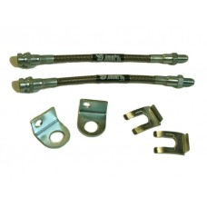 IPOR Stainless Steel Caliper Brake Line Kit