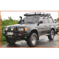 FJ80 Toyota Land Cruiser IRONMAN Winch Bar